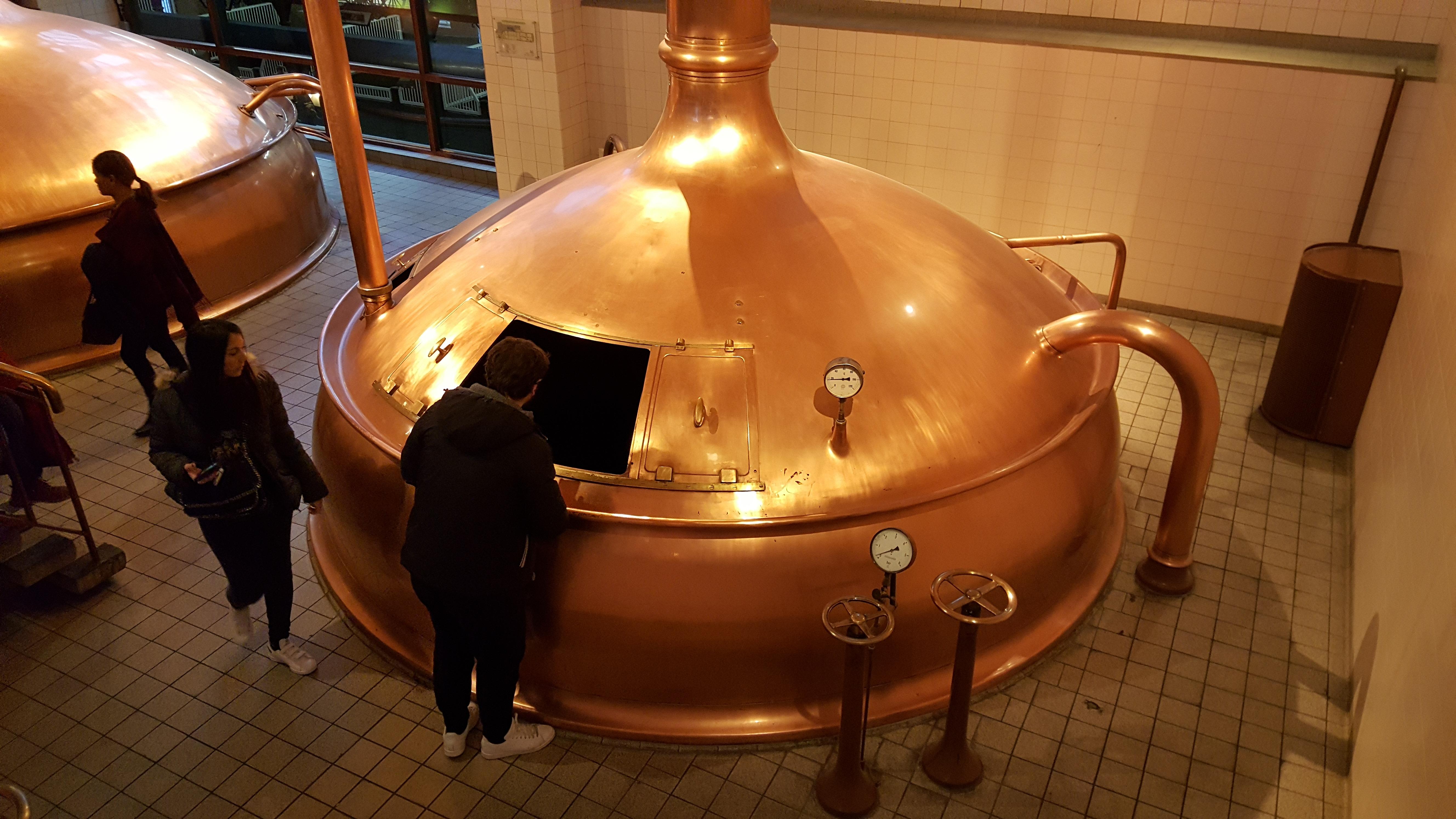 Copper boilers